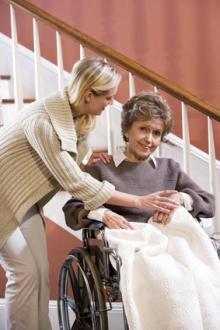 Der Rollstuhllift für Rollstuhlfahrer