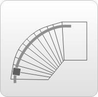Montage Kurvenlift für Wendeltreppen