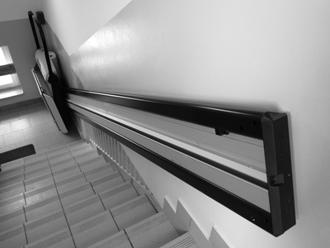 Rollstuhl Schrägaufzug für gerade Treppen