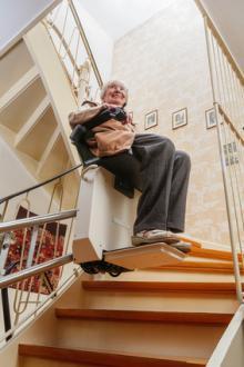 Einen Treppenlift gebraucht kaufen