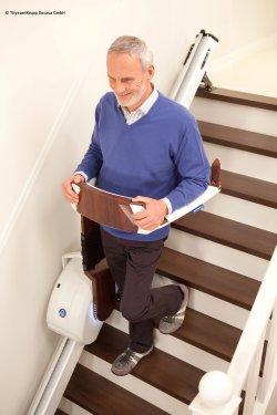 Treppe runter mit dem Stairwalker
