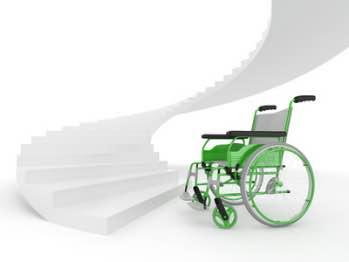 Plattformlift für kurvige Treppen